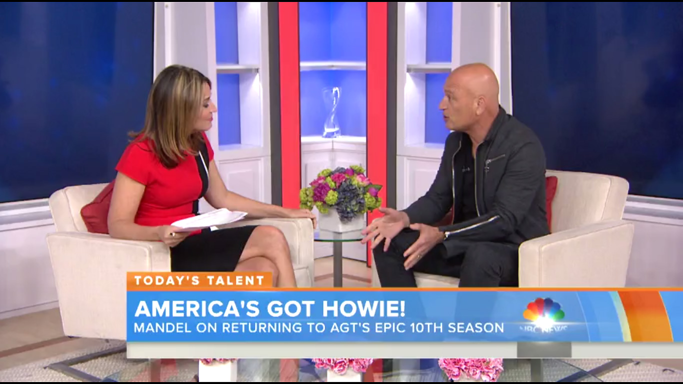 Howie Mandel discusses his hypnosis session on America's Got Talent